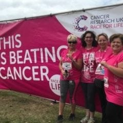 Cancer Race For Life 2018